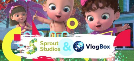 Vlogbox and Sprout Studios Partner to Distribute Animation Content On Roku